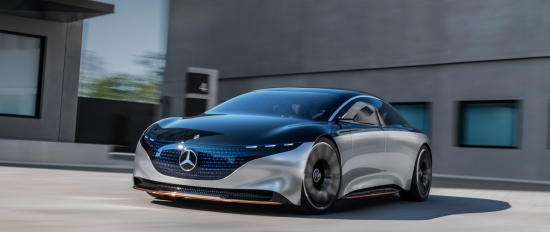 Mercedes-Benz Vision EQS: S-Class of the Future