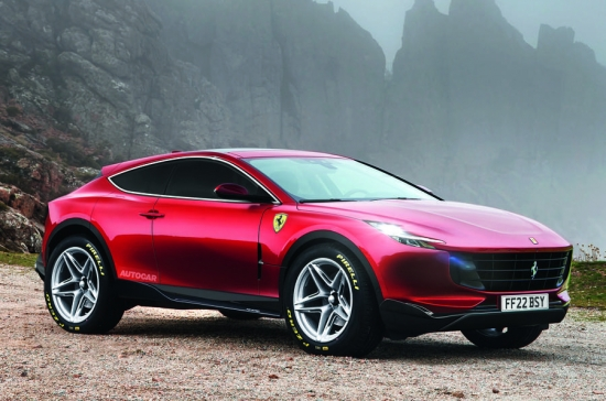 Ferrari Purosangue: new information about the first SUV of the Italian brand
